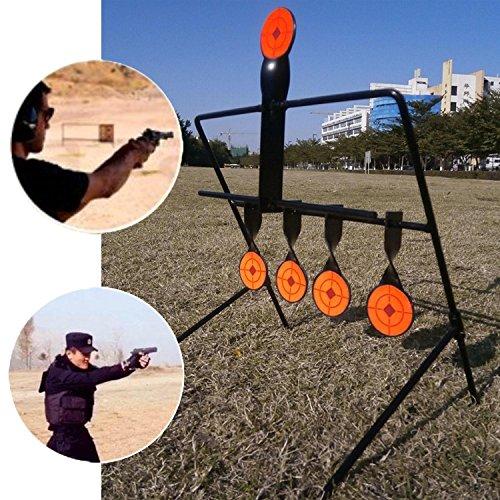 JUFENG .22 Rimfire Resetting Target, Outdoors Air Strike Pellet Shooting Target 5 Targets by JUFENG (Image #4)