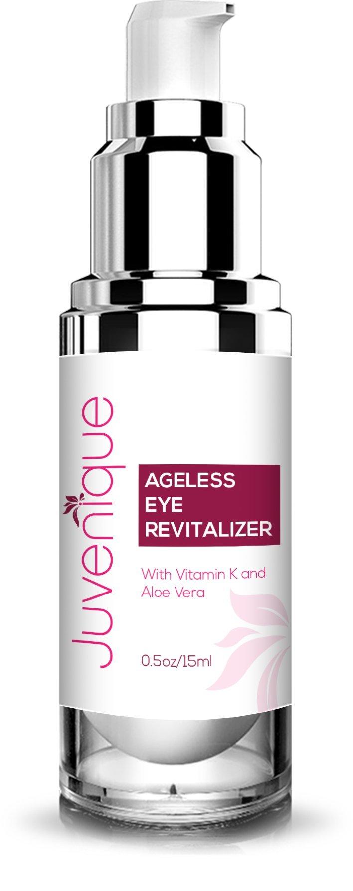 Juvenique Ageless Eye Revitalizer- With Vitamin K and Aloe Vera