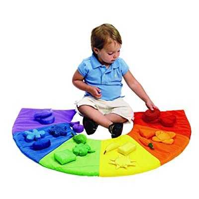 "Excellerations Colorful Sorting and Counting Toy for Toddlers, 19 Plush Sorting Pieces and 1 Washable Plush 24""H x 36""W Floor mat, 18 Months and Up Kids Educational Toy: Industrial & Scientific"