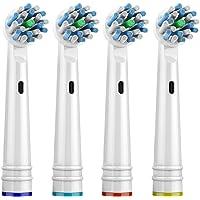 Kyver Oral-B Uyumlu Cross Action 4'lü Dış Fırçası Yedek Başlığı
