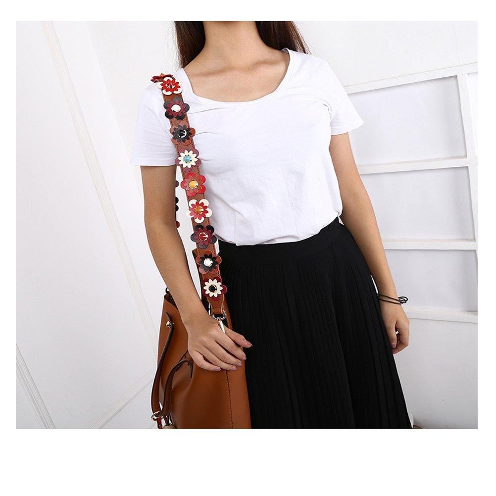 OPOO Purse Straps Replacement Rivet PU Leather Handbags Strap Shoulder Bag Wide Strap Replacement for Handbags Purse Bags
