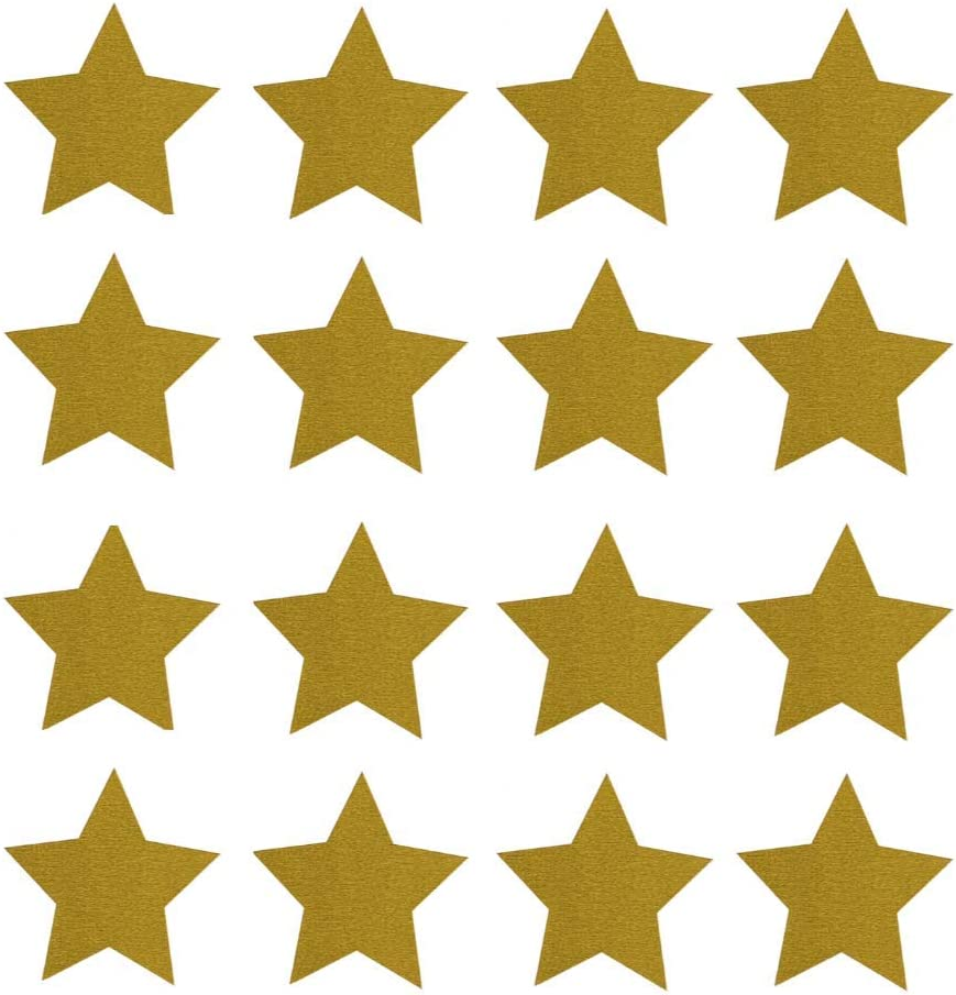 Faithful Supply Gold Star Stickers for Teachers 1,120 per Pack One inch Gold Star Stickers for Kids are Great for Homework, Projects Gold Stars Stickers Excellent for Envelope Seals or Wafer Seals