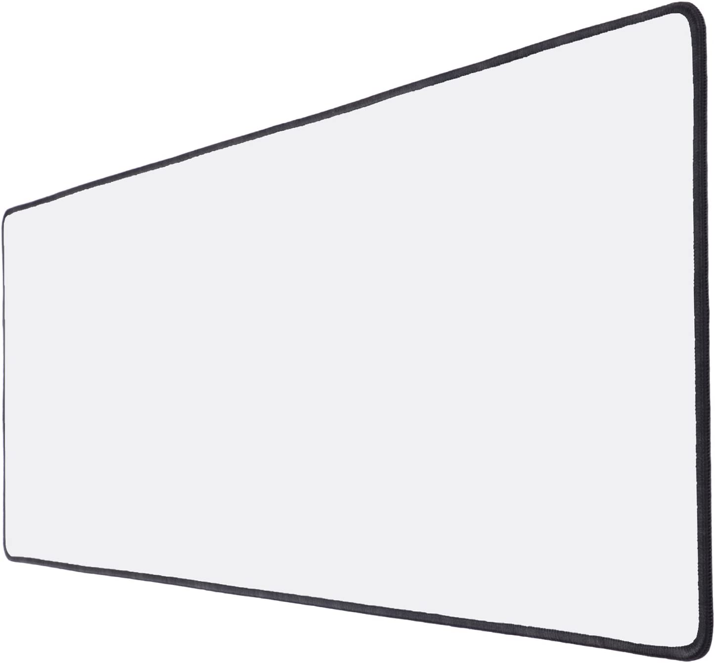 mousepad 80x30cm Base de goma antideslizante blanco