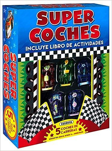 MAQUETAS. SUPER COCHES (L.ACTIVIDADES + 5 COCHES CARRERAS ...