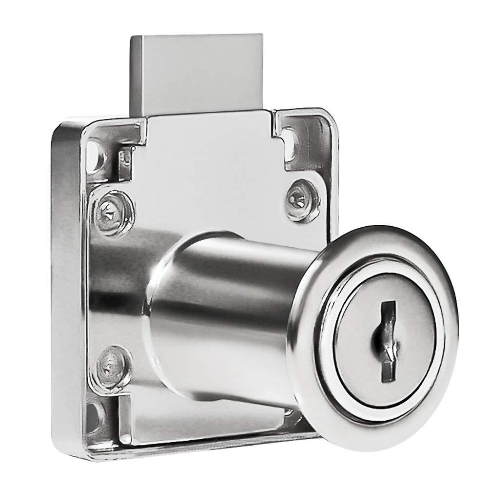 YOUNICER caj/ón de cerraduras de Seguridad con Llave de aleaci/ón de Aluminio Cerradura de Leva gabinete Muebles Cerradura Cilindro