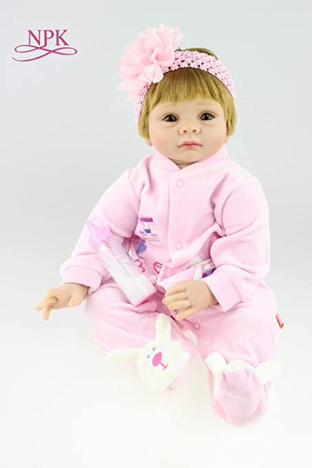 """Chic Lifelike Reborn Bebe Doll Clothes For 22/"""" Newborn Doll Baby Only Clothing"""