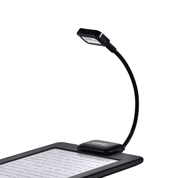 High Quality Kindle Book Light Clip On LED Reading Light Flexible Neck With 2 Levels Of  Lumen Design Inspirations