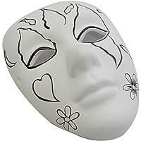 Bu-Bu Seramik Maske Seti Kalp Desenli (BUBU-MS0002)