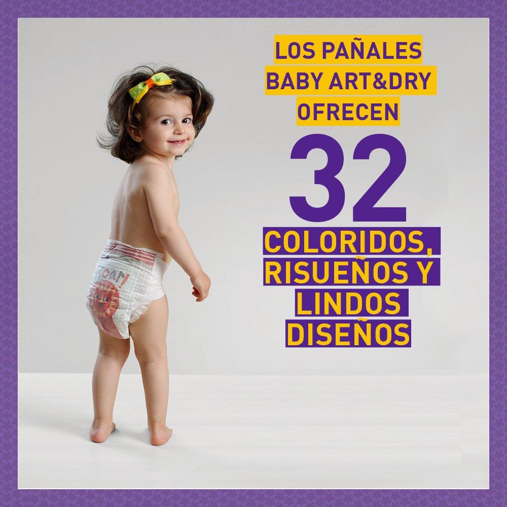 Pufies Baby Art Dry Wandering Woodland - 36 Pañales, talla 4: Amazon.es: Salud y cuidado personal