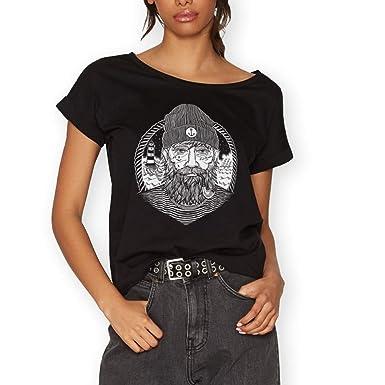 VIENTO Real Captain Damen T-Shirt  Amazon.de  Bekleidung e1cced85d8
