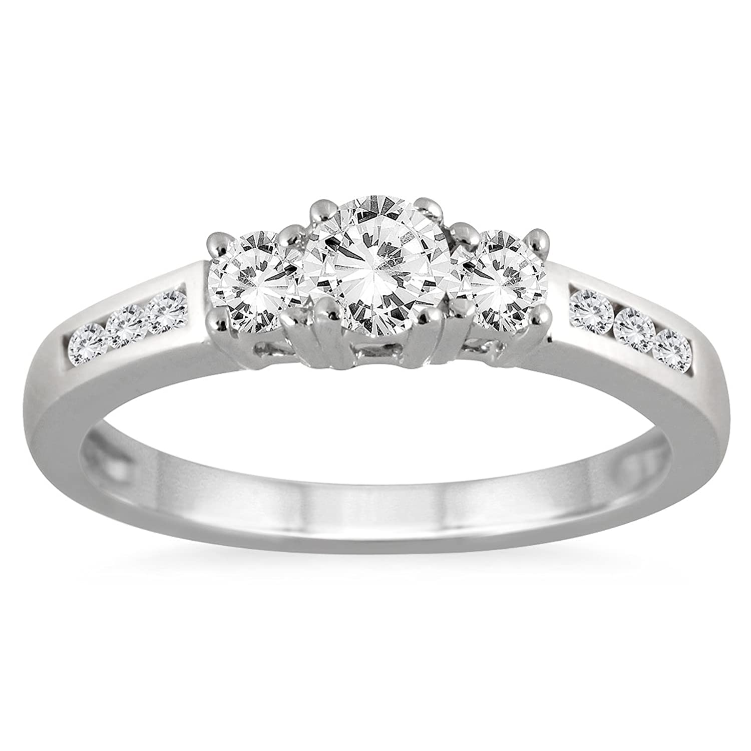 diamond category garland ring ct product anniversary rings jewellery eternity