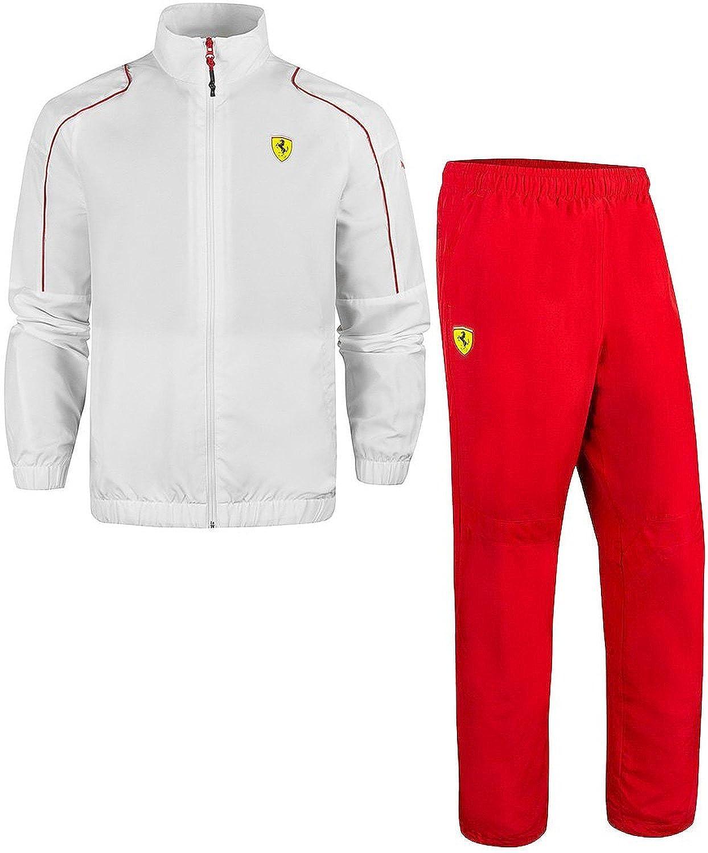 Puma equipo de Fórmula Uno Ferrari Scuderia Chándal Set blanco ...