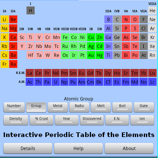 Amazon interactive periodic table of elements appstore for android urtaz Gallery
