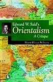 Edward W. Said's Orientalism, Bharat Bhushan Mohanty, 8170339278