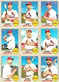 St Louis Cardinals 2017 Topps Heritage Series 13 Card Team Set with Adam Wainwright and Yadier Molina Plus