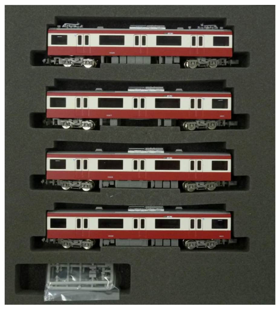 Keihin Express New Type 1000 Additional Four Middle Cars (Model Train) (japan import)