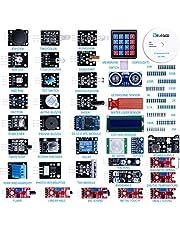 ELEGOO Actualizado 37-en-1 Kit de Módulos de Sensores con Tutorial para Arduino UNO R3 Mega 2560 Nano Arduino Sensores Kit Raspberry Sensores