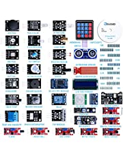 ELEGOO Upgraded 37 in 1 Sensor Modules Kit with Tutorial Compatible with Arduino UNO R3 MEGA 2560 Nano Raspberry Pi