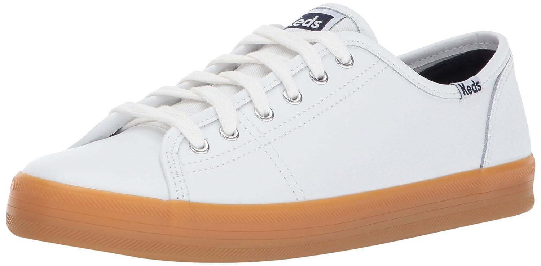 White Gum Keds Women's Kickstart Leather Sneakers
