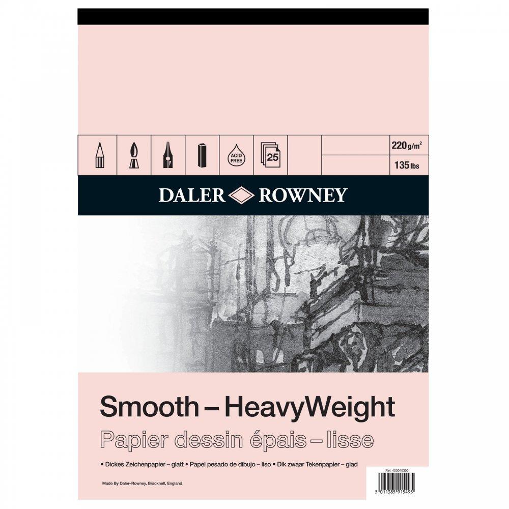 Daler Rowney Heavyweight Cartridge Pad 220gm A2 25s (Pad) by Daler Rowney B01N91FX8V | Bestellungen Sind Willkommen