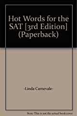 Hot Words for the SAT [3rd Edition] (Paperback) Paperback