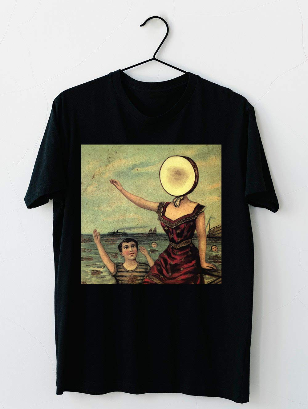 In The Aeroplane Over The Sea T Shirt For Unisex