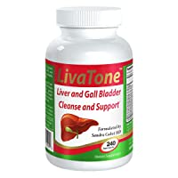 Livatone Liver and Gallbladder Cleanse – Dr. Formulated Liver Cleanse and Detox Pills, Milk Thistle & Antioxidants (240 Capsules), Free Liver Cleanse Book