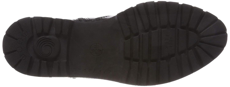 Be Natural Damen 25441-21 Chelsea Stiefel, Schwarz Schwarz Schwarz (schwarz 001) 021091