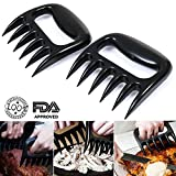 1 Pair Bear Paws Claws Meat Handler Fork Tongs Shred Pull Toss Lift Pork BBQ