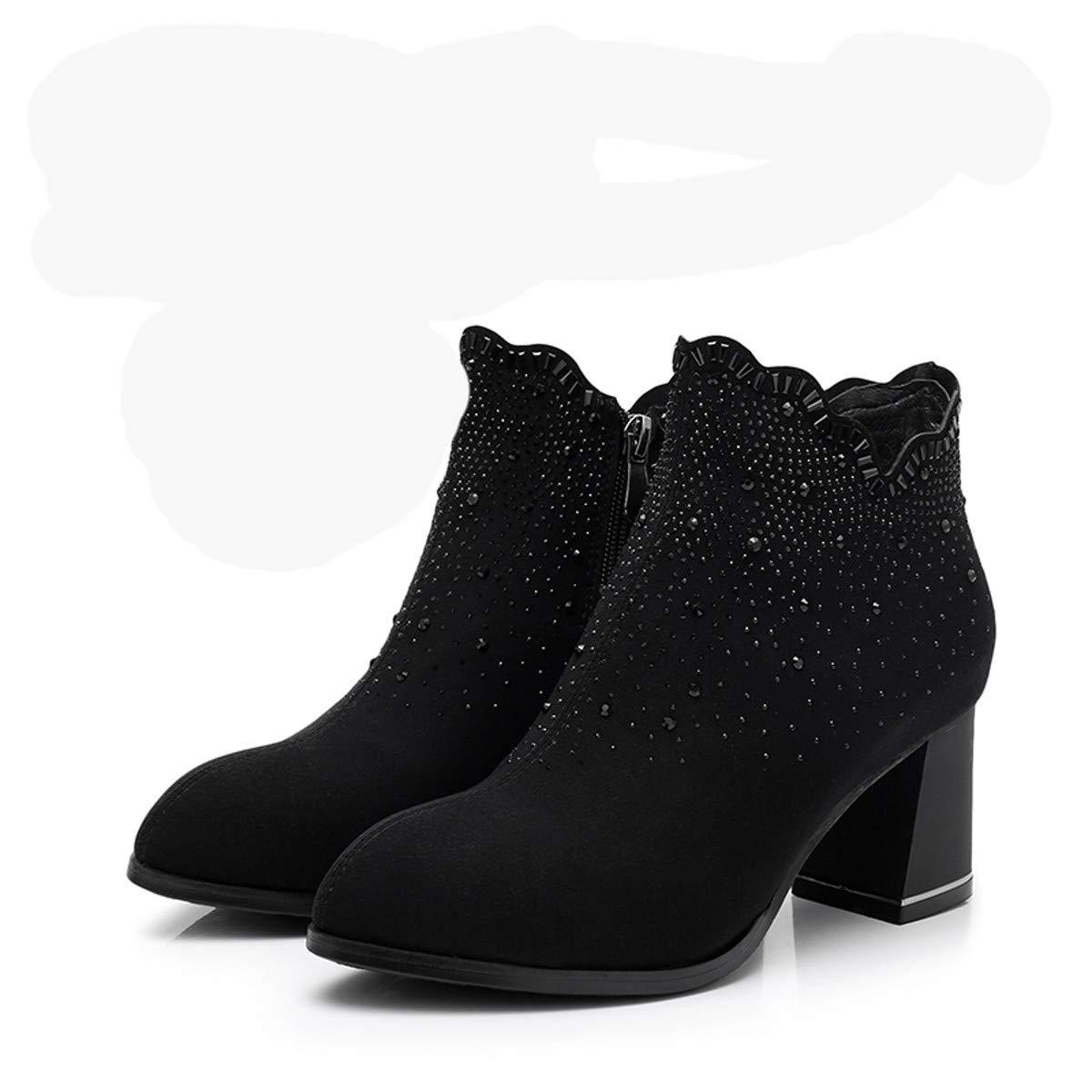 KPHY Damenschuhe Mode - Stiefel Eleganten Hochhackigen Hochhackigen Hochhackigen Stiefeln Und Hohe Freund Hart Merchandiser Stiefel. 7961eb
