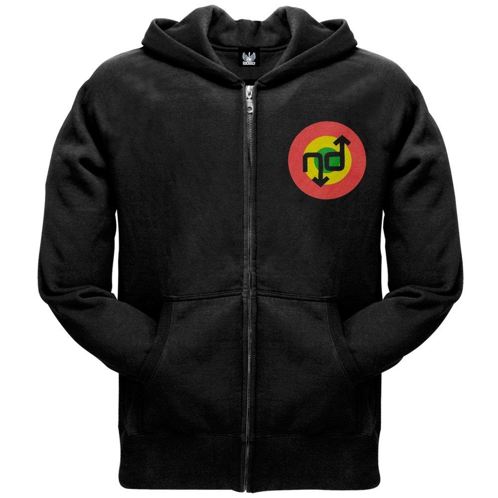 No Doubt-Tri-Farbe Logo Zip Hoodie