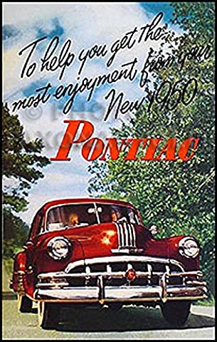 1950 Pontiac Reprint Owner's Manual - Choke Horn