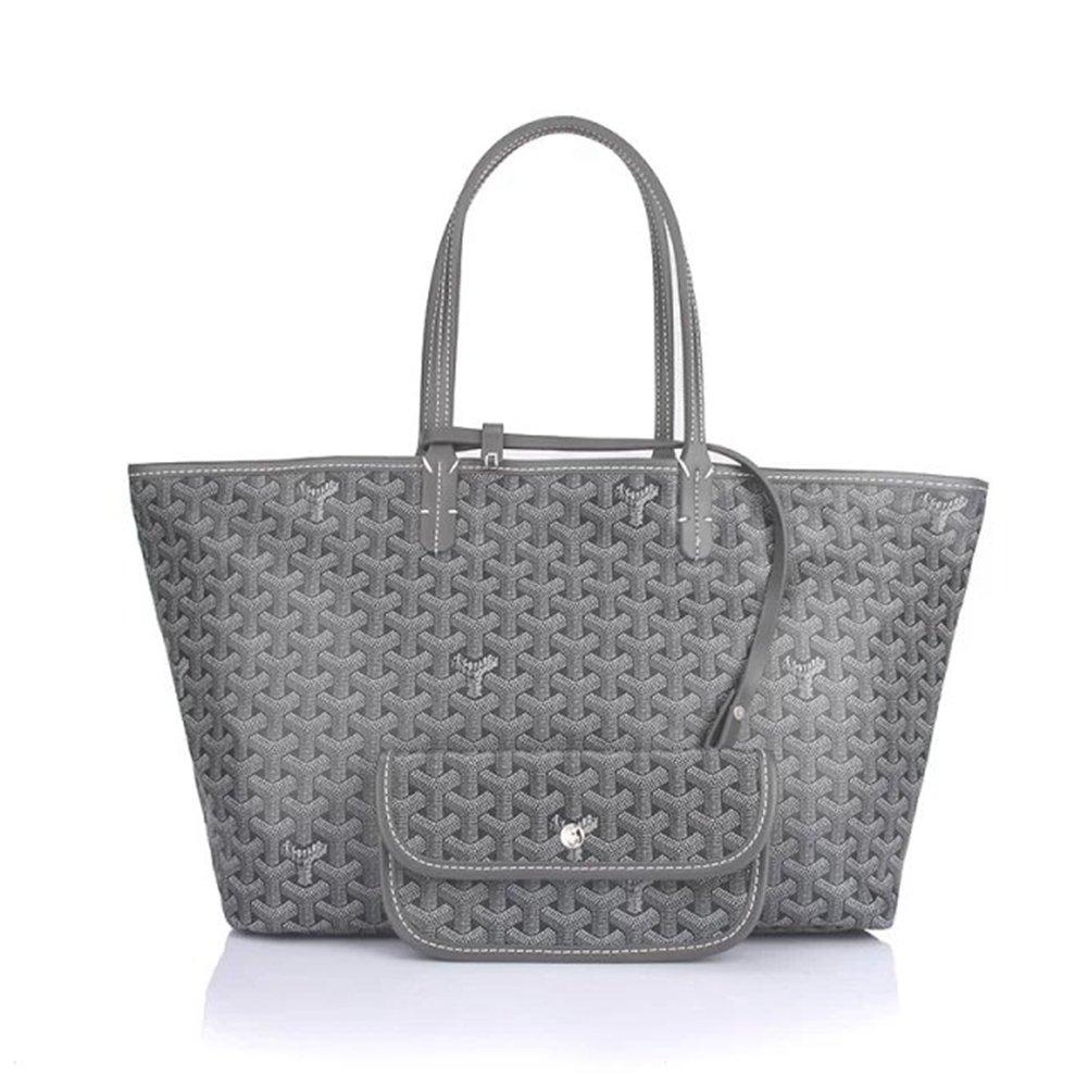 Sardal Fashion Shopping Shoulder Tote Bag Set(Grey)