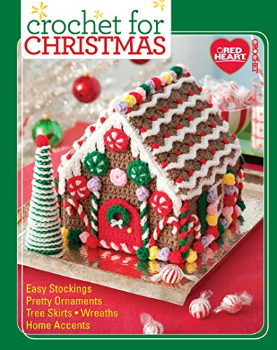 Crochet For Christmas-From Holiday Cushions, Stockings, and a Snowflake Afghan, this Best-Selling Booklet has it All!