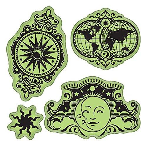 Inkadinkado Stamping Stamps Celestial Motifs