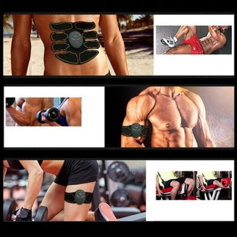Abs Trainer Muscle Yiitay Abdominale Ceinture Muscle Abs Entra/îneur Muscle Appareil De Remise En Forme Le Corps Machine De Remise En Forme Fitness Gymnastique /À La Maison /Équipement Pour Hommes Femmes