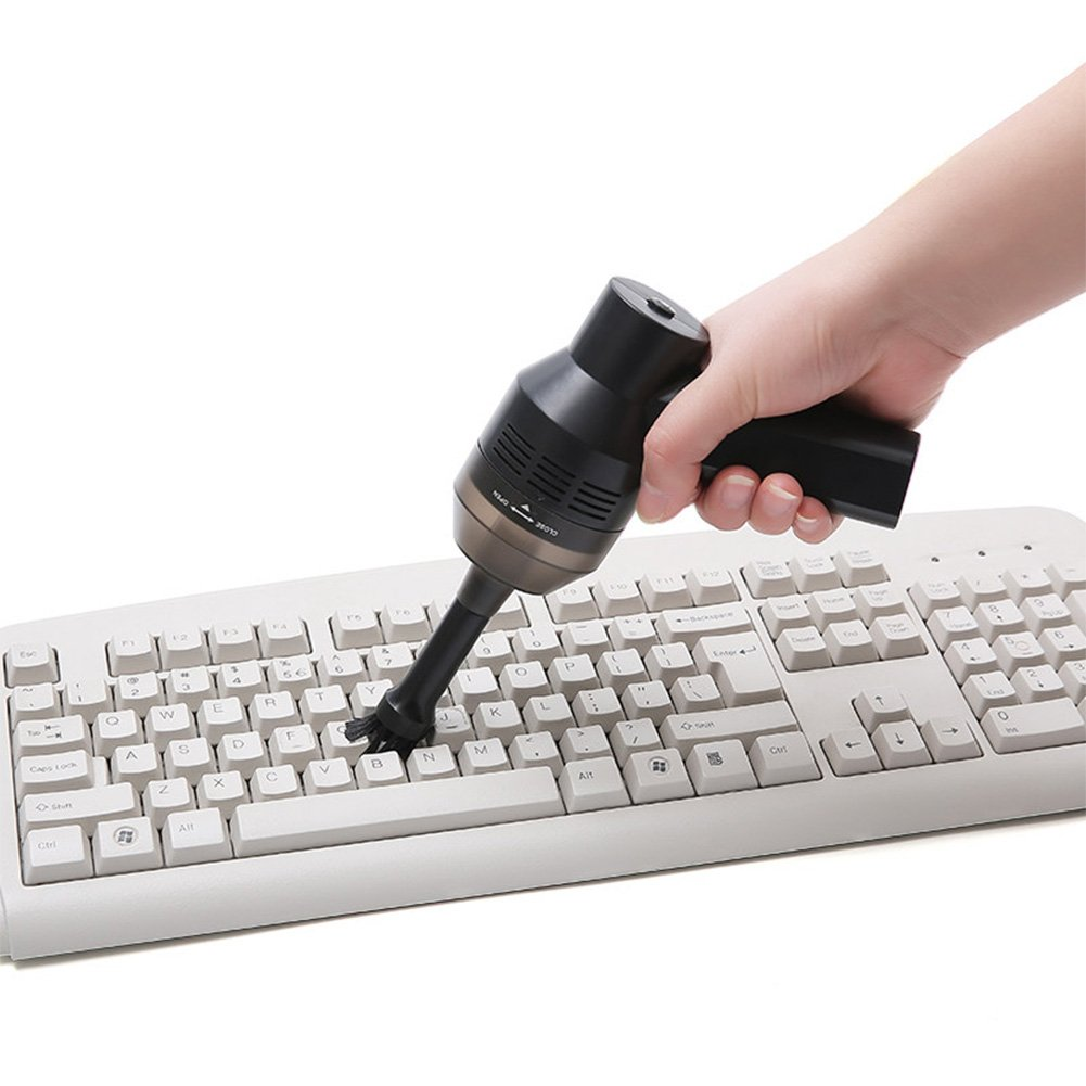 Adealink Mini USB Rechargeable Vacuum Cleaner Computer Keyboard Brush Nozzle Dust Collector Handheld Sucker Clean Kit by Adealink (Image #8)