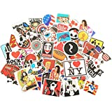 Stickers [100 pcs],Laptop Stickers Car Motorcycle Bicycle Luggage Decal Graffiti Patches Skateboard Stickers for Laptop - No-Duplicate Sticker Pack …