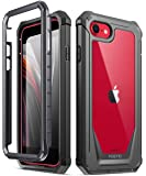 Poetic Carcasa rígida Transparente Apple iPhone SE, Funda Protectors a Prueba de Golpes, Guardian Series, Estuche para…