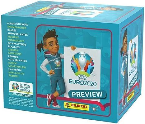 Panini EP20STP Euro 2020 Preview - Pack de 60 pegatinas: Amazon.es: Juguetes y juegos
