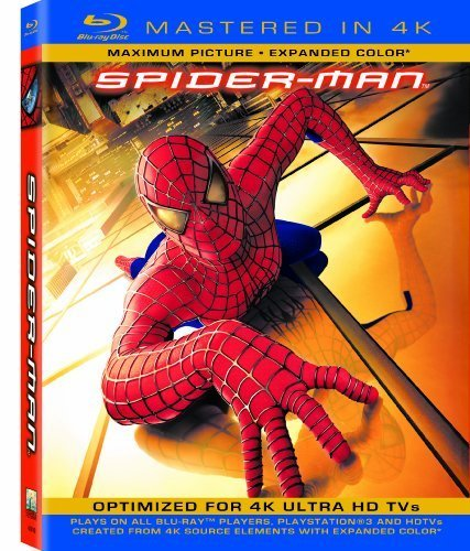 Spider-Man (Mastered in 4K) (Single-Disc Blu-ray + UltraViolet Digital Copy) by Sony Pictures Home Entertainment