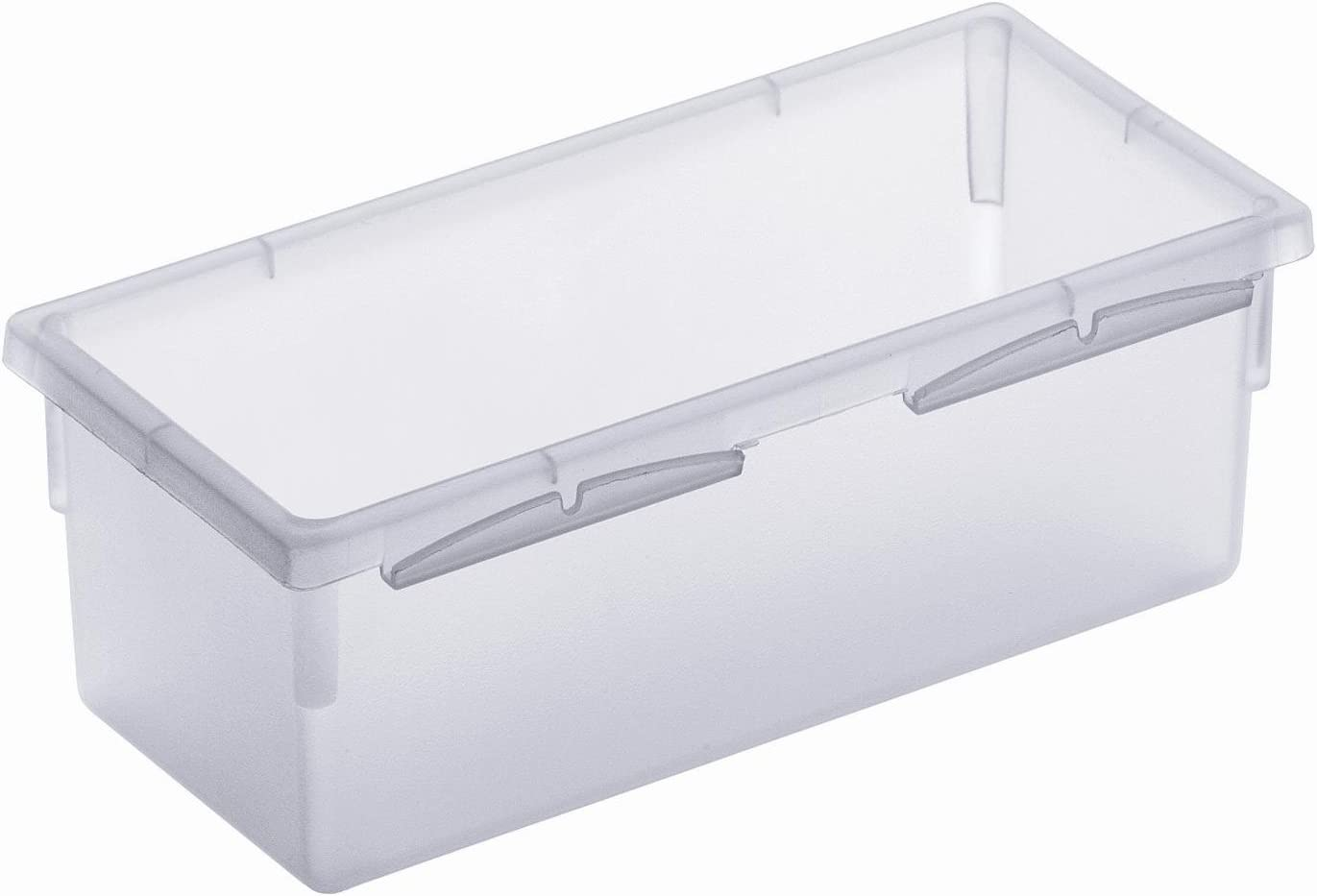 Portaposate plastica Trasparente 15x8cm Rotho