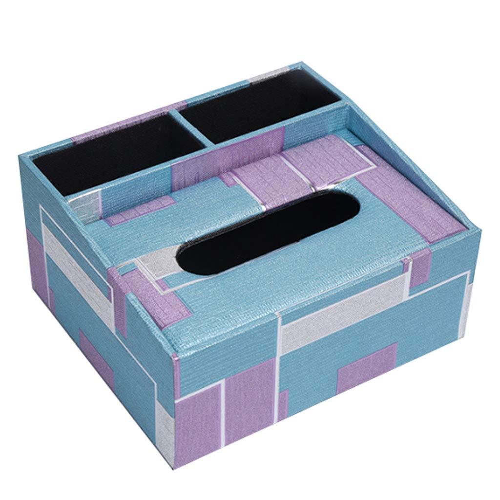 lhwaiylq Caja Pañuelos/Recipiente De Pañuelos/Recipiente Caja Multifunción De Piel Sintética para Bolígrafo, Lápiz, Mando A Distancia cb54b7