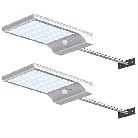 side facing innogear solar gutter lights