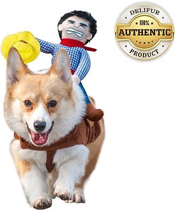 Amazon.com: Disfras para perro, Disfraz de traje de vaquero ...