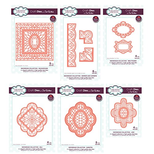 Creative Expressions Sue Wilson Die Set - Indonesian Collection by Creative Expressions