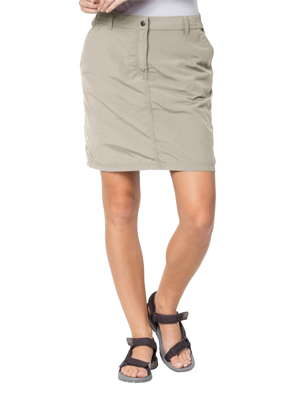 Jack Wolfskin Women's Kalahari Skirt/Skirt, Light Sand, 38 (US 29/31)