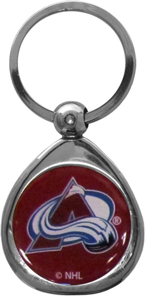NHL Siskiyou Sports Fan Shop Colorado Avalanche Chrome Key Chain One Size Team Colors : Sports Fan Keychains : Sports & Outdoors