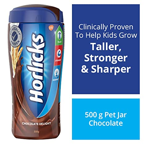 Horlicks Health & Nutrition drink - 500 g Pet Jar (Chocolate flavor)