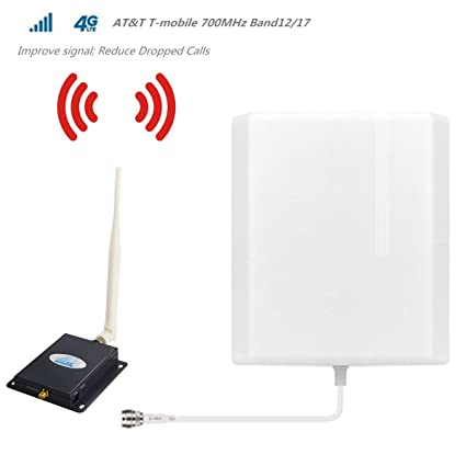 Amazon.com: ATT T-Mobile Cell Phone Signal Booster 4G LTE Cell ...